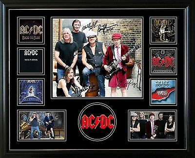 AU82.99 • Buy Acdc Signed Limited Edition Framed Memorabilia