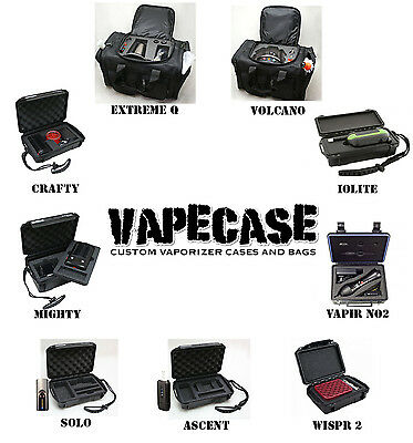 £39.99 • Buy Vaporizer VAPECASE -Crafty/Mighty/Volcano/Extreme Q/Da Vinci Ascent/Iolite/WISPR