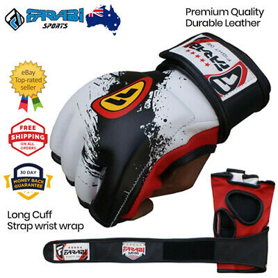 AU29.99 • Buy MMA Boxing Gloves 4 Oz Cage Fighting Punching Bag Padded Training Mitts