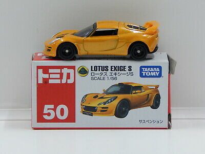 $ CDN24.38 • Buy 1:56 Lotus Exige S (Gold) - Made In Vietnam Tomica 50