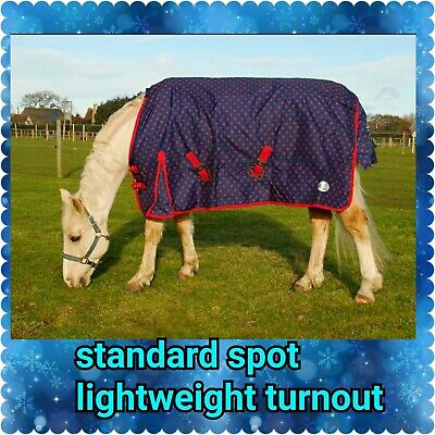 £36.95 • Buy Sale  Limited Edition Lightweight Combo Or Standard Neck Turnout Horse Rug