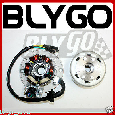 AU79.99 • Buy Magneto Stator Plate + Flywheel Roller YX 150cc 160cc PIT PRO Trail Dirt Bike