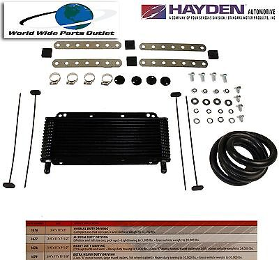 $46 • Buy Automatic Transmission Oil Cooler Hayden 676/OC-1676  Plate And Fin Type