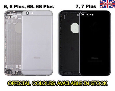 New Alloy Metal Replacement Back Housing Rear Cover Part For IPhone 6 6S 7 Plus • 15.99£