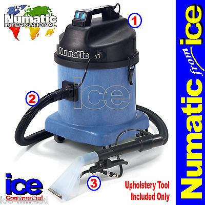 Numatic CTD570-2 Professional Commercial Car Valeting Machine Cleaning Equipment • 749.99£