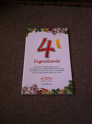 AU4.95 • Buy NEW 4 Ingredients Family Cook Book Herbs & Spices Gourmet Garden Cooking Recipes