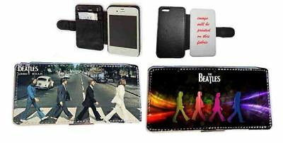 Beatles Abbey Road Faux Leather Phone Case For Samsung IPhone Xperia • 11.20£