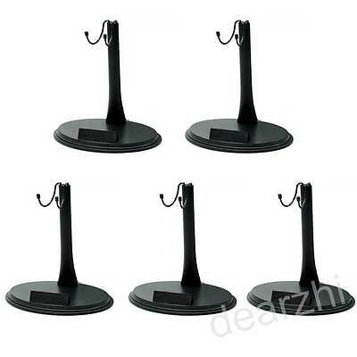 $18.60 • Buy 5PCS 1/6 12 Action Figure Doll Stand Base For Hot Toys Sideshow Enterbay Dragon