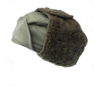 French Military Army / Foreign Legion Cold Weather Winter Arctic Trapper Hat Cap • 4.99£