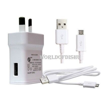 AU10.95 • Buy Genuine Samsung USB 2A AC Wall Charger + Data Cable For Galaxy S4 S5 S6 Note 4