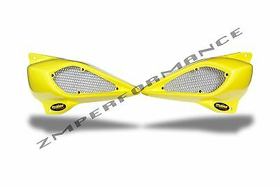 $40 • Buy New Yamaha Yfz450 04-12 Neon Yellow Plastic Headlight Eliminator Air Scoops