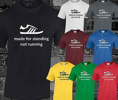 Made For Standing Mens T Shirt Casuals Football Hooligan Trimm Trab Terraces  • 6.99£