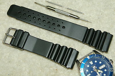 £10.75 • Buy PVC Divers XL High Quality Watch Strap For Citizen/Seiko Sport 18-20-22-24mm