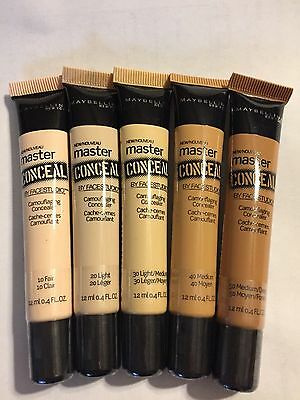 $8.29 • Buy (1) Maybelline Master Conceal By Facestudio Camouflage Concealer, You Choose