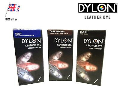 Dylon Leather Shoe & Boot Dye - Various Colours Available - Free Shipping • 8.95£