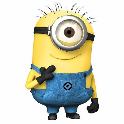 MINIONS Despicable Me WALL STICKERS Wall Sticker Vinyl For Children Room (M02) • 5.99£