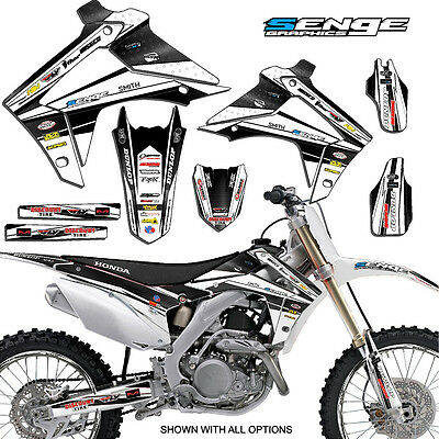 $129.99 • Buy 2002 2003 2004 Crf 450r Graphics Kit Crf450r 450 R Deco Decals Stickers
