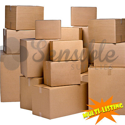 Quality High Performance 'p-flute' Single Wall Cardboard Boxes *high Grade*  • 6.29£