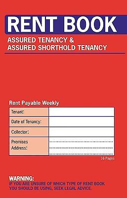 Rent Book Assured Tenancy And Assured Shorthold Tenancy 16 Pages 1 2 3 6 12 20 • 16.99£