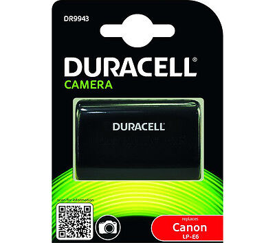 Duracell DR9943 Replacement Digital Camera Battery For Canon LP-E6 Battery • 34.99£