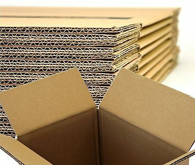 Double Wall - Strong Removal Mailing Packing Corrugated Cardboard Boxes Cartons • 19.90£