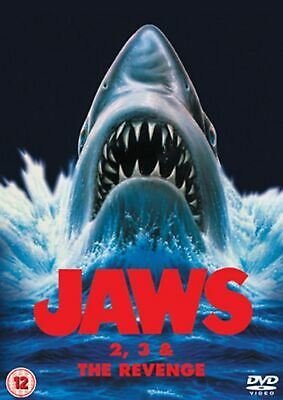 Jaws 2/Jaws 3/Jaws: The Revenge (Box Set) [DVD] • 6.99£
