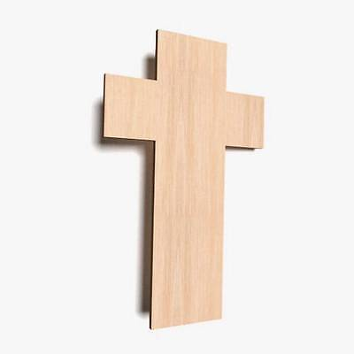 £4 • Buy 10x Wooden SMALL Cross Plain Tags Blank Decoration Craft Memorial Shape X22