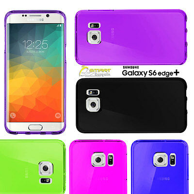 $ CDN4.39 • Buy Matte Gel Case Cover For Samsung Galaxy S6 Edge Plus  Note Edge TPU Jelly Soft