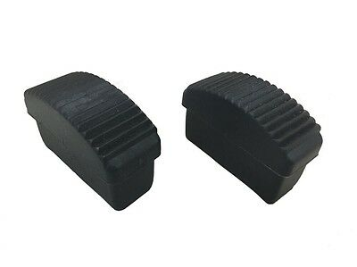 Pack Of 2  -  61 Mm X 23 Mm REPLACEMENT RUBBER Step LADDER Safety Feet  • 4.99£
