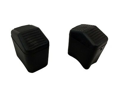Pack Of 2  -  35 Mm X 25 Mm REPLACEMENT RUBBER Step LADDER Safety Feet  • 4.99£