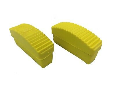 Pack Of 2  -  84 Mm X 22 Mm REPLACEMENT RUBBER Step LADDER Safety Feet  • 4.99£