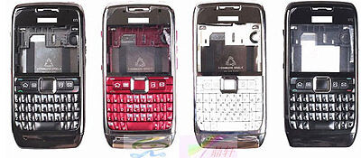 £7.19 • Buy New Metal Replace Bezel Body Housing Cover Casing Keyboard For Nokia E71
