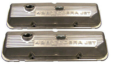 $397.49 • Buy Ford Mustang Cobra Jet Valve Rocker Covers 428 FE 1968 1969 1970 Mach 1 GT500 KR