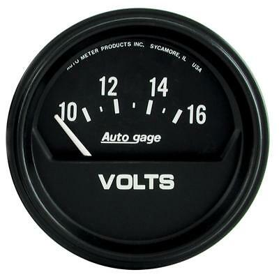$ CDN56.84 • Buy Auto Meter Voltmeter Gauge 2319; Auto Gage 10 To 16 Volts 2-5/8  Electrical