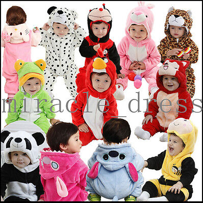 Soft Baby Toddlers' Fancy Dress Cosplay Party Costume Romper NB-3Y • 14.99£