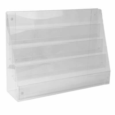 £46.02 • Buy Acrylic Standard Card Display Stand Retail/Shop POS Point Of Sale Counter/Wall
