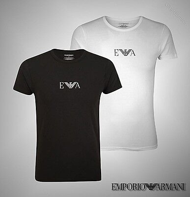 Mens Emporio Armani Short Sleeves Top Underwear T Shirt Sizes From S To XXL • 20.95£