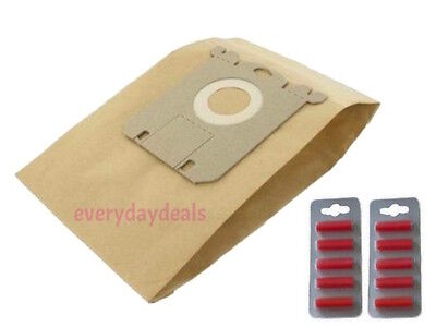 For Electrolux S Type Bag Vacuum Cleaner Paper Dust Bag - 10 Pack + Fresheners • 7.99£
