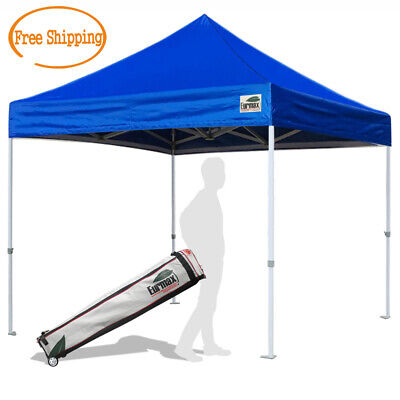 $169.95 • Buy Heavy Duty 10X10 Ez Pop Up Canopy Instant Shade Commercial Tent W/ Wheeled Bag