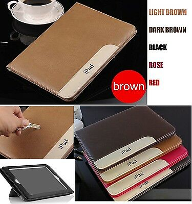 £6.99 • Buy Protective Flip Stand Luxury PU Leather View Case Cover For IPad 2 3 4/Mini/Air