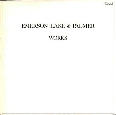 Works Volume 2  Emerson Lake And Palmer • 13.95£
