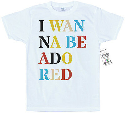 I Wanna Be Adored T Shirt Artwork, The Stone Roses Inspired • 15.55£