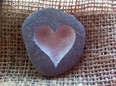 £4 • Buy A Perfect Gift For A New Arrival, Or A Godparent, A Handcarved Love Pebble!