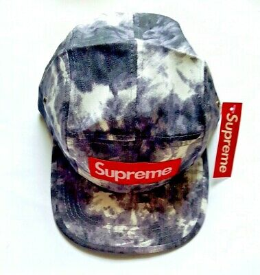 $ CDN101.02 • Buy New Authentic Supreme Camp Camo Hat With Red Box Logo Made In Usa