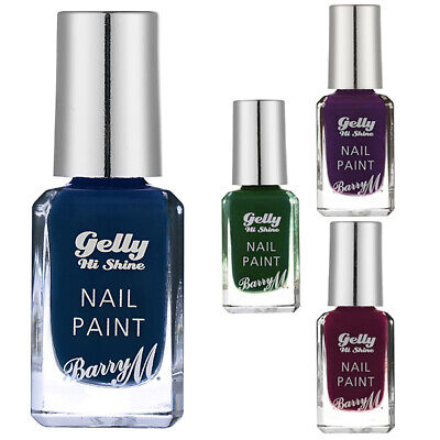 £4.29 • Buy Barry M - Nail Paint Polish Gelly Hi Shine Collection