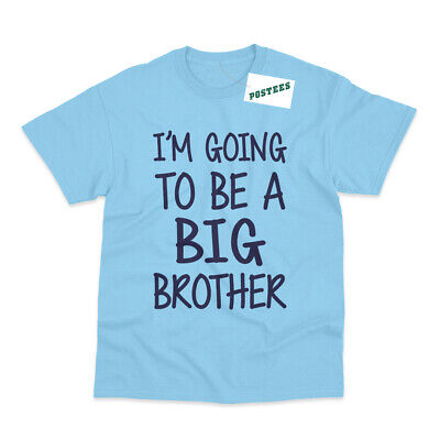 I'm Going To Be A Big Brother Kid's Printed Pregnancy Announcement T-Shirt • 6.95£