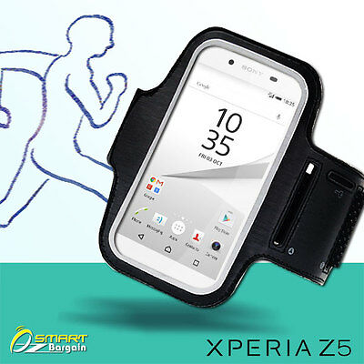 Sports Gym Running Jog Key-pocket Case ArmBand For Sony Xperia Z5 Z5 Compact  • 3.34£