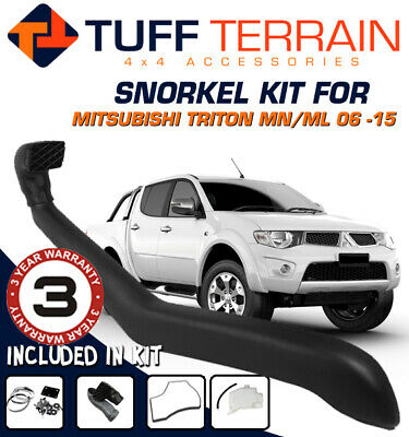 AU129.99 • Buy Snorkel Kit To Suit Mitsubishi Triton ML MN 2006 - On Free Overflow Bottle