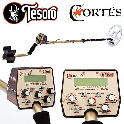 £511.10 • Buy Tesoro Cortes Metal Detector With 9  X 8  Search Coil