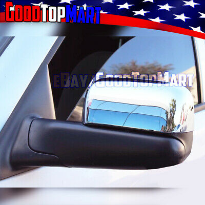 $39.86 • Buy For Dodge RAM 2002-03 04 05 06 07 2008 Chrome Top TOWING Mirror Style Cover